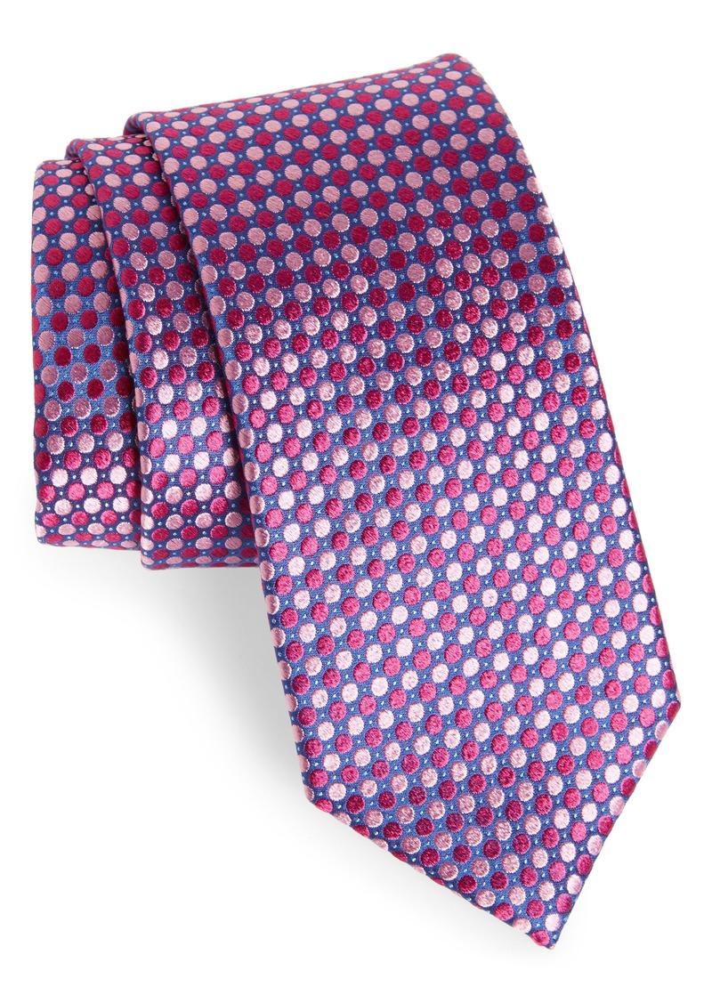 Ted Baker London Tonal Alternating Dot Silk Tie