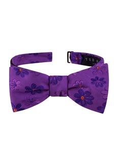 Ted Baker London Tonal Daisy Silk Bow Tie