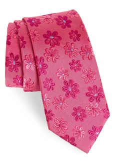 Ted Baker London Tonal Daisy Silk Tie