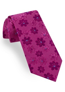 Ted Baker London Tonal Daisy Silk Tie
