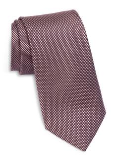 Ted Baker London Tonal Micro Grid Silk Tie
