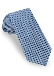 Ted Baker London Tonal Microcheck Silk Tie