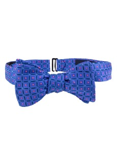 Ted Baker London Tonal Squares Bow Tie