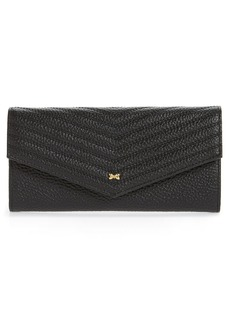 Ted Baker London Tonya Quilted Leather Envelope Matinée Wallet