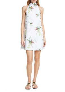 Ted Baker London Toriat Tutti Frutti Scallop Trim Minidress