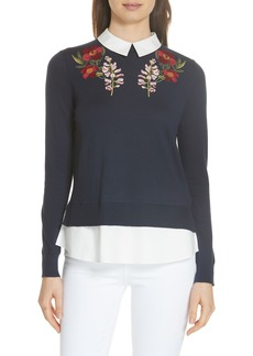 Ted Baker London Toriey Layered Look Sweater