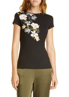 Ted Baker London Torina Opal Floral Graphic Tee