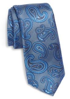Ted Baker London Tossed Pine Paisley Silk Skinny Tie
