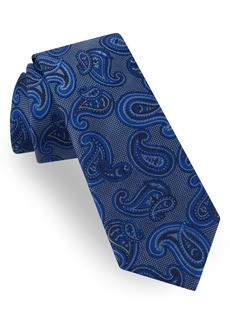 Ted Baker London Tossed Pine Paisley Silk Tie