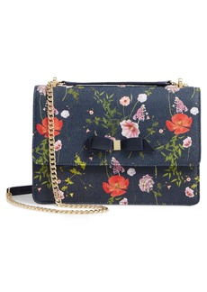 Ted Baker London Traccy Hedgerow Floral Leather Crossbody Bag