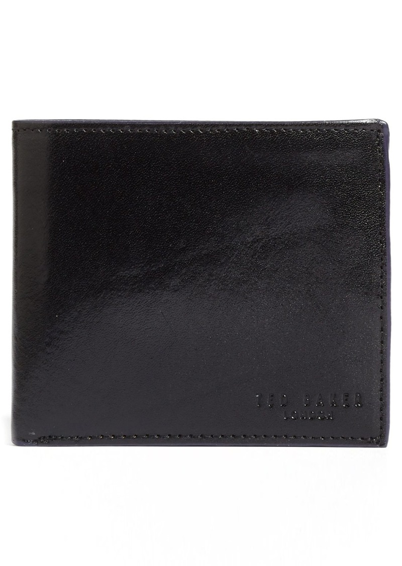 Ted Baker London Trainer Leather Bifold Wallet