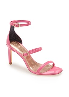 Ted Baker London Triap Strappy Square Toe Sandal (Women)