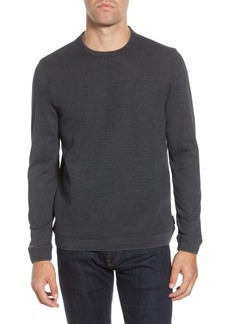 Ted Baker London Tricks Slim Fit Quilted Jersey Sweatshirt