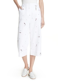 Ted Baker London Trillaa Embroidered Cullottes