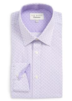 Ted Baker London Trim Fit Solid Dress Shirt