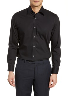 Ted Baker London Endurance Extra Slim Fit Stretch Solid Dress Shirt