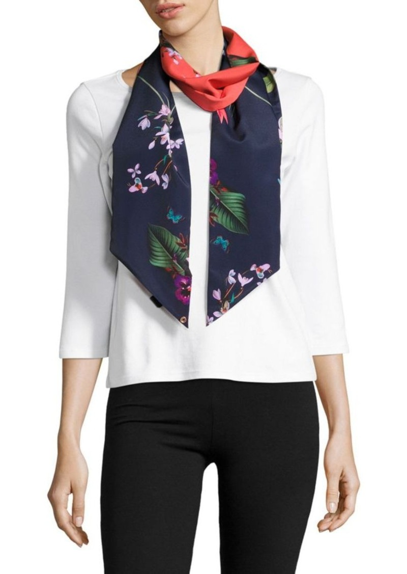 d7106cc1f Ted Baker Ted Baker London Tropical Oasis Skinny Scarf