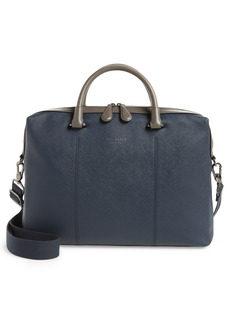Ted Baker London Trough Crossgrain Document Briefcase