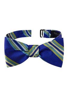 Ted Baker London Twin Stripe Silk Bow Tie