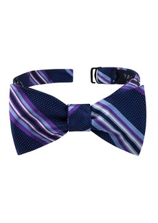 Ted Baker London Twin Stripe Silk Bow Tie