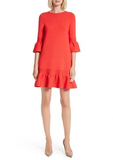 Ted Baker London Tynia Peplum Ruffle Shift Dress