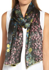 Ted Baker London Unity Floral Silk Scarf