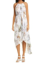 Ted Baker London Vanilla Pleated High/Low Dress
