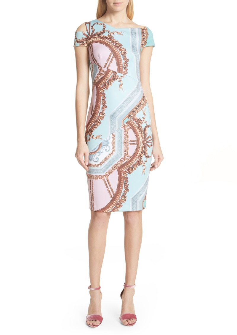 Ted Baker Ted Baker London Versailles Print Body-Con Dress  ac681051f