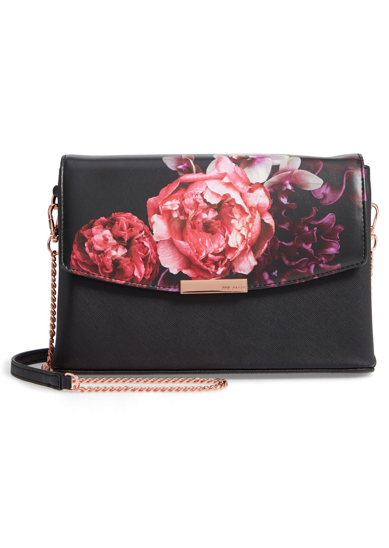 Ted Baker Ted Baker London Viickky Splendour Print Faux Leather ... 233e344ed1aa8
