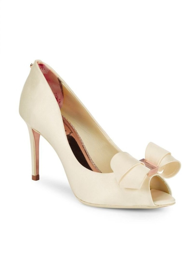 6bc54d2a410f Ted Baker Ted Baker London Vylett Bow Peep Toe Pumps
