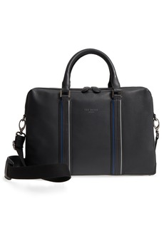 Ted Baker London Walave Leather Document Briefcase