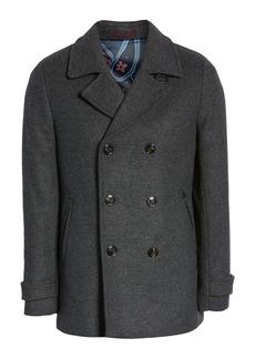 Ted Baker London Westun Wool Blend Peacoat