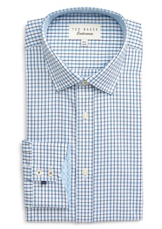 Ted Baker London Endurance Whaele Extra Slim Fit Check Dress Shirt