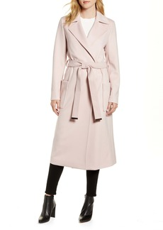Ted Baker London Joseete Wide Lapel Long Wrap Coat