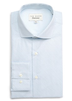 Ted Baker London Endurance Wobego Extra Slim Fit Geometric Dress Shirt