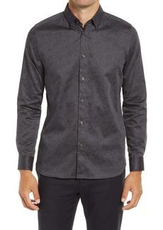 Ted Baker London Wolnut Print Button-Up Shirt