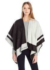 Ted Baker London Women's Amelya Oversized Cube Cape black