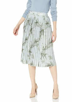 Ted Baker London Women's Esti Highland Jersey Pleated Skirt