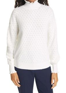 Ted Baker London Women's Gauge Pointelle Sweater