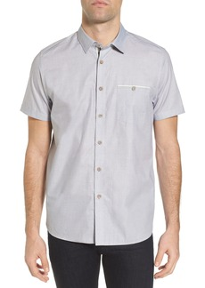 Ted Baker London Wonky Trim Fit Oxford Sport Shirt