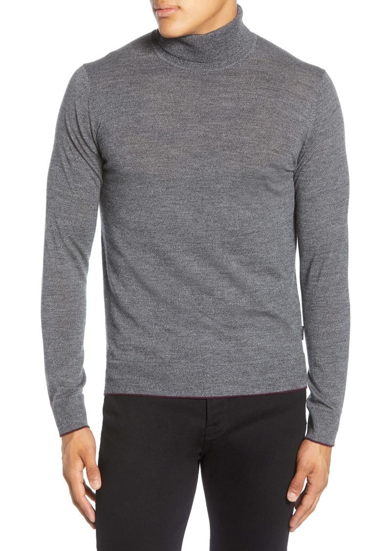 Ted Baker London Wool Blend Turtleneck Sweater