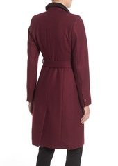 Ted Baker London Wool Blend Wrap Coat