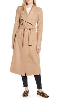Ted Baker London Gwnith Wool Blend Wrap Coat