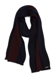 Ted Baker London Wootton Colorblock Wool Blend Scarf