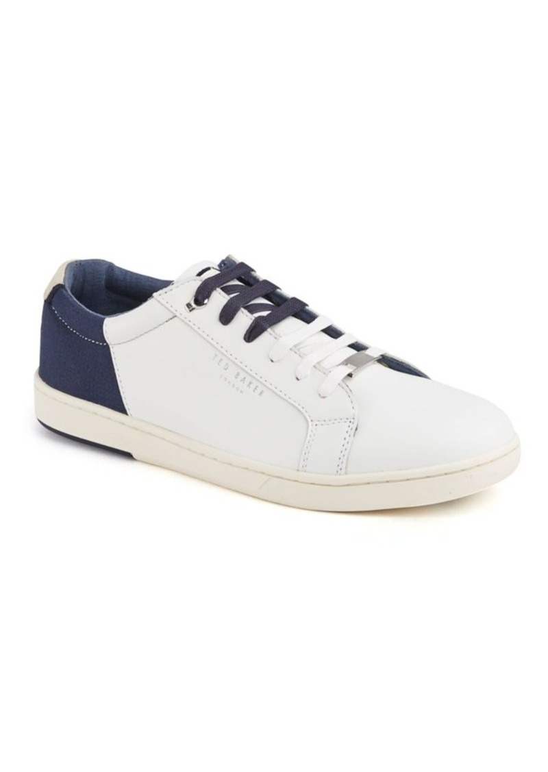563f206b Ted Baker Ted Baker London Xiloto Round-Toe Leather Sneakers | Shoes