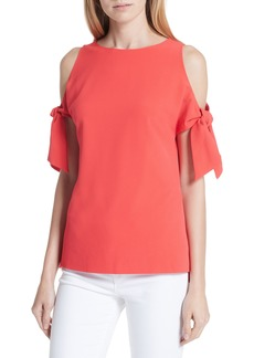 Ted Baker London Yaele Cold Shoulder Top
