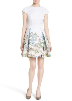 Ted Baker London Yvetta Fit & Flare Dress
