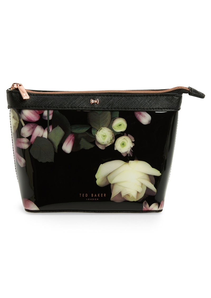 69e9178ad5 Ted Baker Ted Baker London Zaire Kensington Floral Print Cosmetic ...