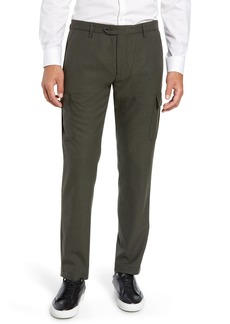 1192fa344 Ted Baker London Zakery Slim Fit Utility Cargo Trousers
