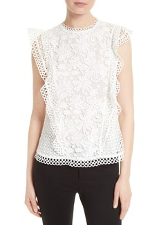Ted Baker London Zania Lace Top